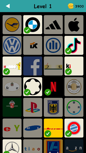 Logo Test: Germany Brands Quiz, Guess Trivia Game  screenshots 1