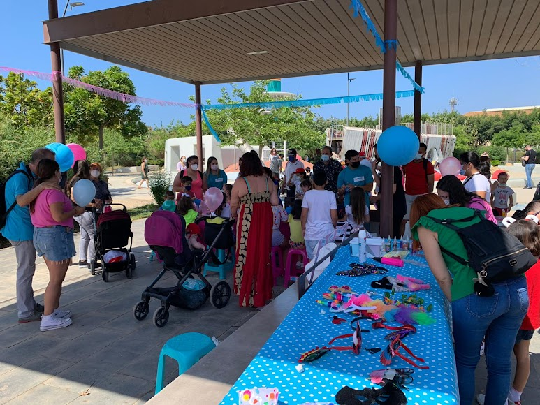El Parque de las Familias, una auténtica fiesta.