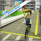 Kids School Race Bicycle Rider Android APK Download Free By Parking Games