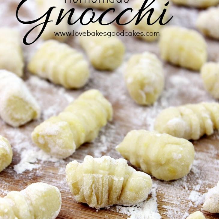 Homemade Gnocchi Recipe | Yummly