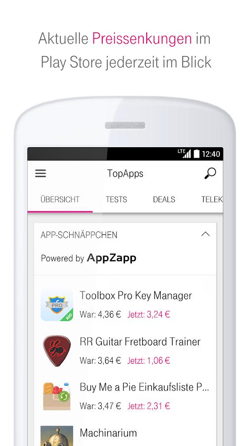 TopApps – die besten Apps- screenshot
