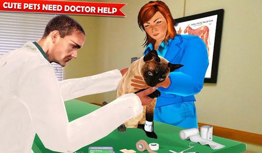 Pet Hospital Vet Clinic Animal Vet Pet Doctor Game apkdebit screenshots 13