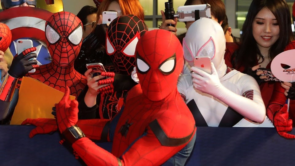Spider-Man in Korea
