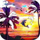 Scenery Color by Number Offline, Free Paint Games