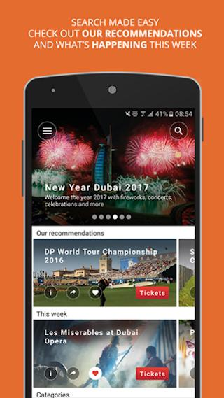 Dubai Calendar- screenshot