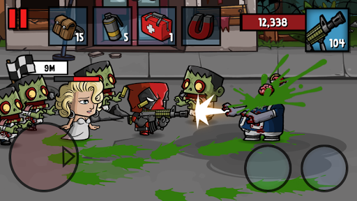 Zombie Age 3: Shooting Walking Zombie: Dead City filehippodl screenshot 2