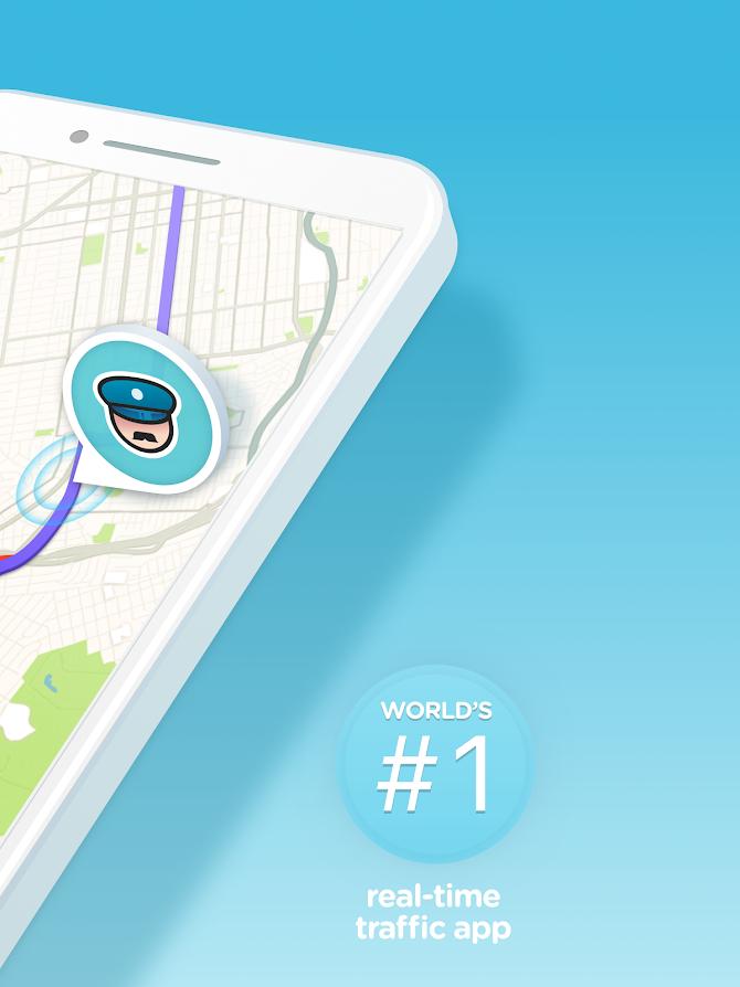 Waze - GPS, Maps, Traffic Alerts & Live Navigation Android 7