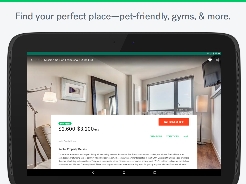 Trulia Rent Apartments & Homes- screenshot