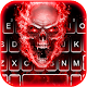 Fiery 3d Skull Keyboard Theme for PC-Windows 7,8,10 and Mac