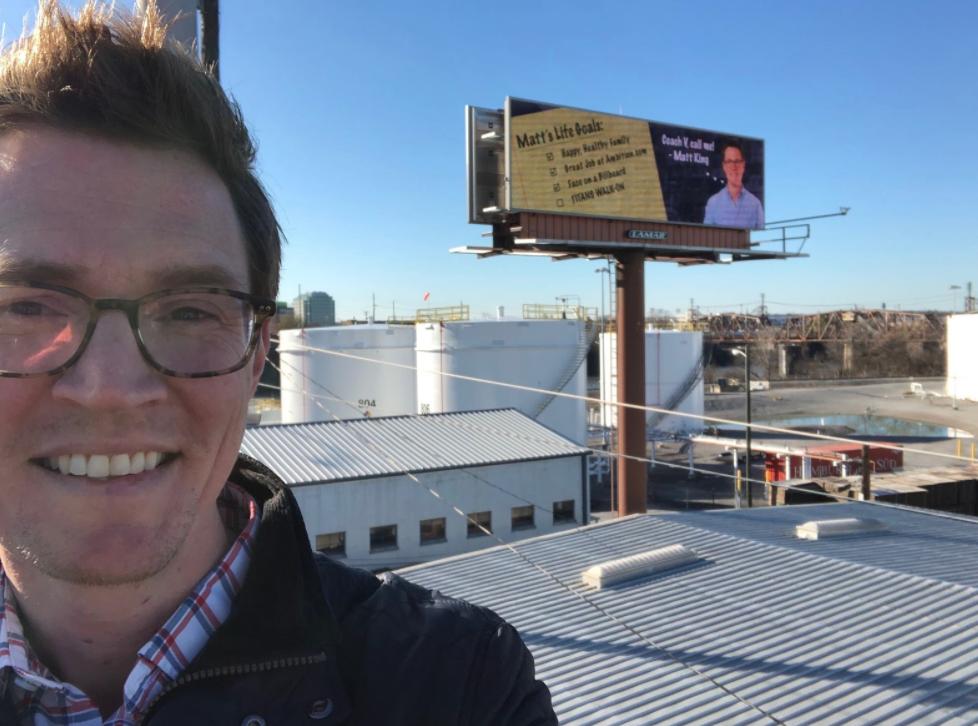matt king billboard