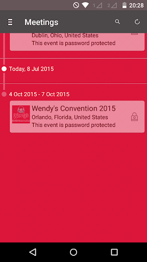 Wendy's Meetings