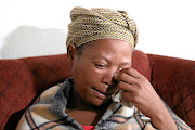 Nandi Sibeko, the mother of Siphiwe Sibeko, the 14-year-old girl who went missing and was found killed in Emndeni, Soweto.
