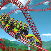 VR Roller Coaster Ride Simulator Theme Park