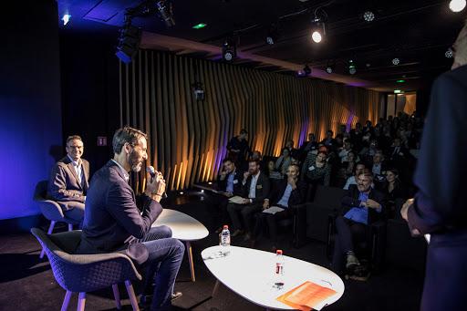 Club Les Echos Débats avec Sébastien Badault, Directeur général France d'Alibaba Group