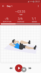 Abs workout- screenshot thumbnail
