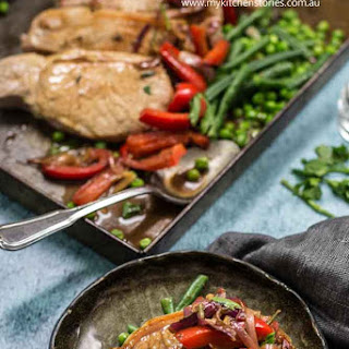 Murray Valley Pork with Balsamic Sweet and Sour