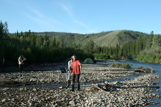 Photo: Yukon River. Chandindu Creek