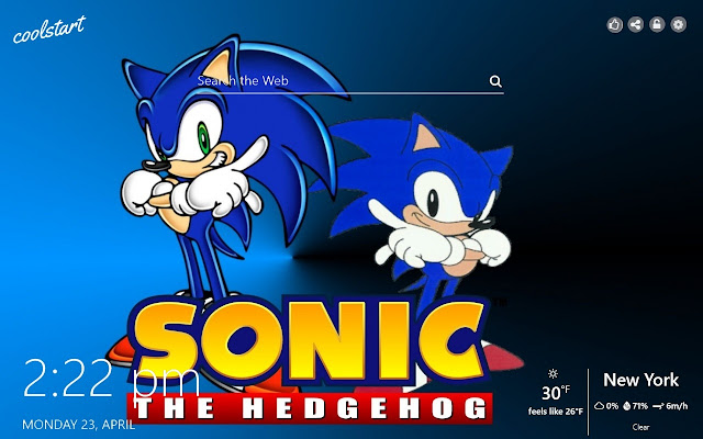 Sonic The Hedgehog Hd Wallpapers New Tab