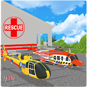 Modern City Helicopter Game