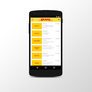 DHL Egypt- screenshot thumbnail