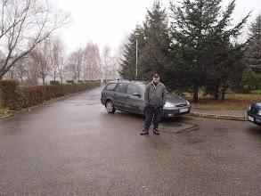 Photo: póki co pilnuję transportowca :)