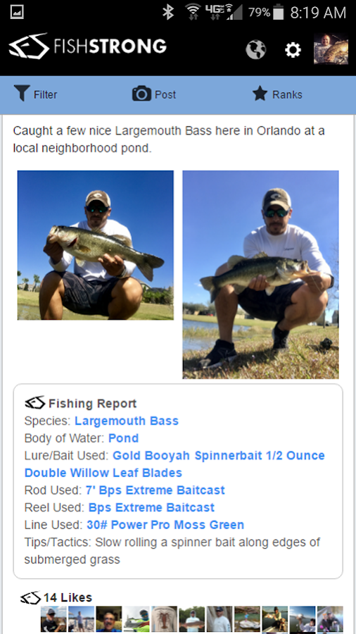 Fish Strong - Fishing Reports- screenshot