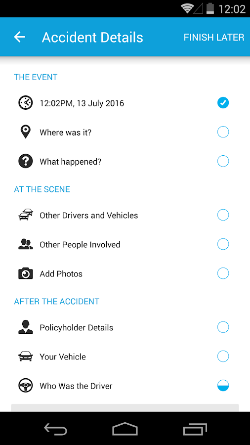 Just Car Insurance iClaim- screenshot
