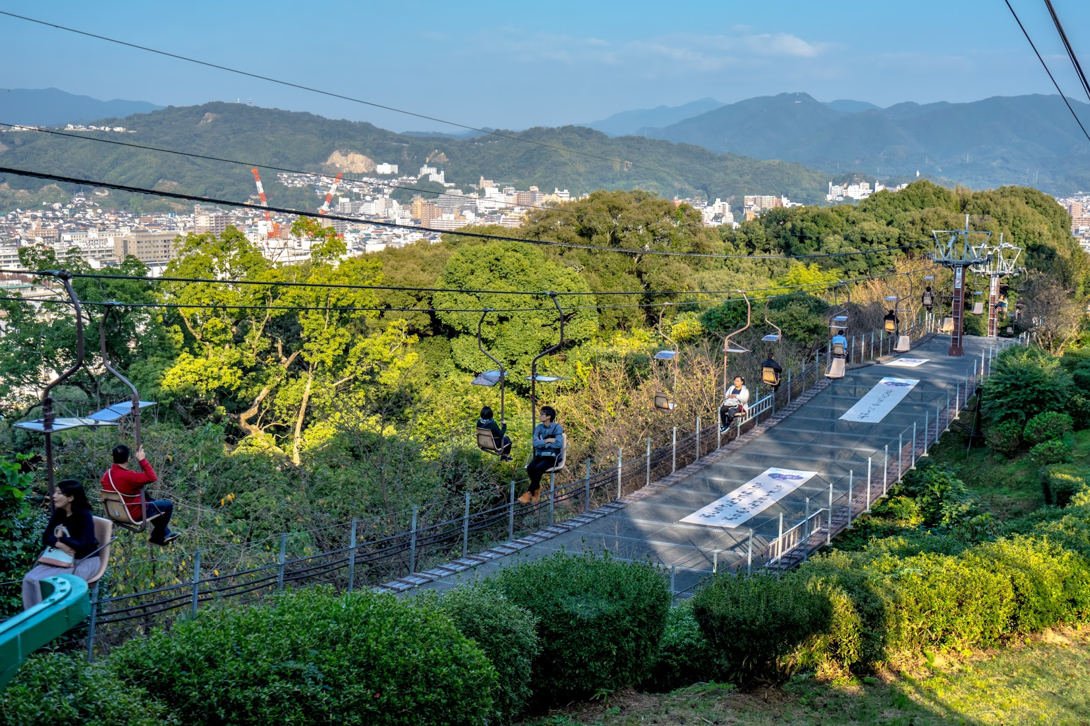 Matsuyama Castle lift