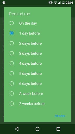 Birthday Reminder  screenshots 5