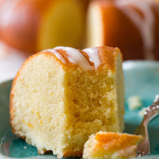 Glazed Orange Bundt Cake.