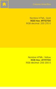 Web Colors: RGB - náhled