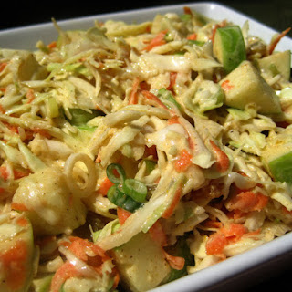 Curried Apple Slaw