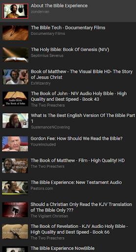 Free 聖書 NIV Audio