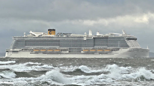 Costa Smeralda debuted in late 2019 as the flagship of the Costa Cruises fleet.