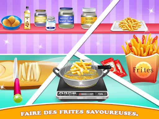 Chef de restauration de rue - Jeu Cuisine virtuel  captures d'écran 2