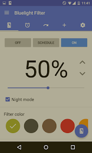 Bluelight Filter for Eye Care Mod 2.10.2 Apk [Premium/Unlocked] 2
