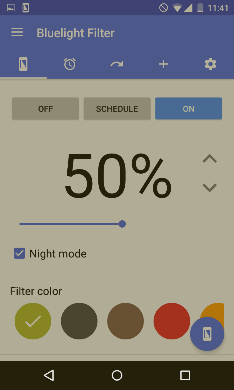 Bluelight Filter for Eye Care Screenshot 1