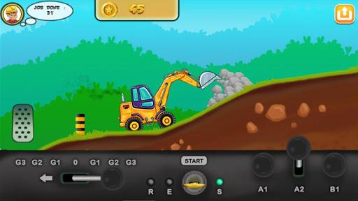 I am an Excavator Runner android2mod screenshots 11