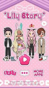 Lily Story: Dress Up Game MOD Apk 1.4.8 (Unlimited Shopping) 1