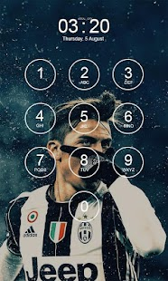 Paulo Dybala Lock Screen HD X - náhled