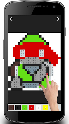 Cartoon Coloring : Color By Number 1.01.0 screenshots 12
