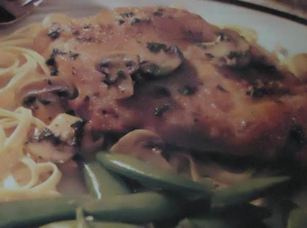 My Chicken Marsala Recipe