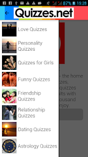 Quizzes - Love & Personality- screenshot thumbnail