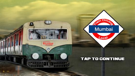 Train Driving Mumbai Local - náhled