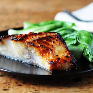 Miso-Glazed Black Cod.