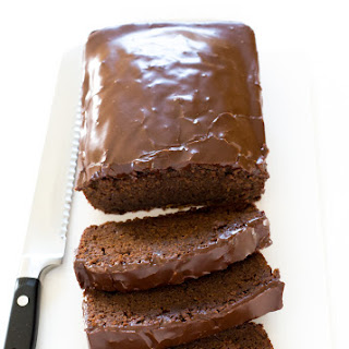 Double Chocolate Loaf Cake.