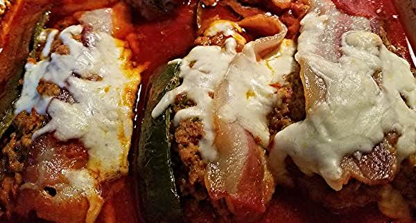 Meat Loaf Stuffed Poblano Peppers With Bacon Recipe