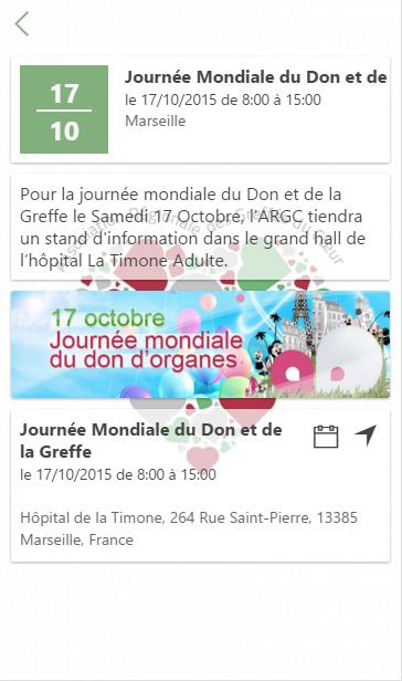 Greffés ARGC- screenshot