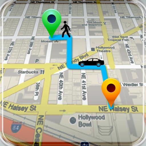 GPSロケーション履歴の追跡 通訊 App LOGO-APP試玩