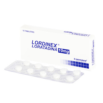 Lordinex 10Mg Tabletas   Caja x10Tab. Novamed Loratadina